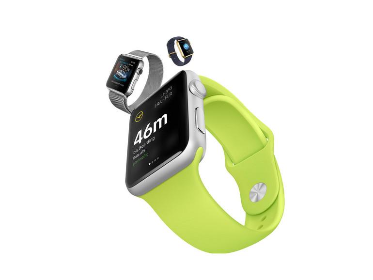 Passwort-Manager-Apps gibt es auch für die Apple Watch