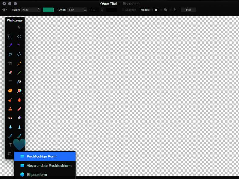 Pixelmator Die 4 schönsten Effekte für Bilder Fotos optimal