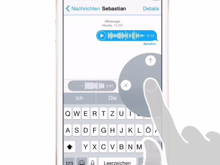 Sprachnachrichten App