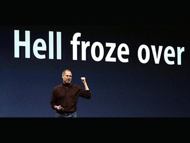 Die Hölle ist schon wieder zugefroren: Apple entwickelt nun auch für Android