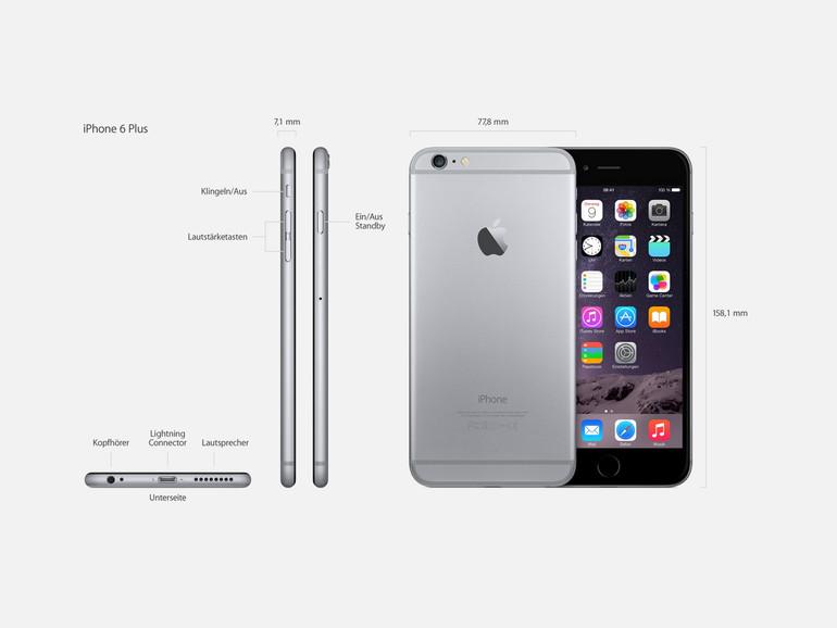 Wie auch das iPhone 6 Plus wird der Nachfolger iPhone 6s Plus ein 5,5 Zoll-Display besitzen