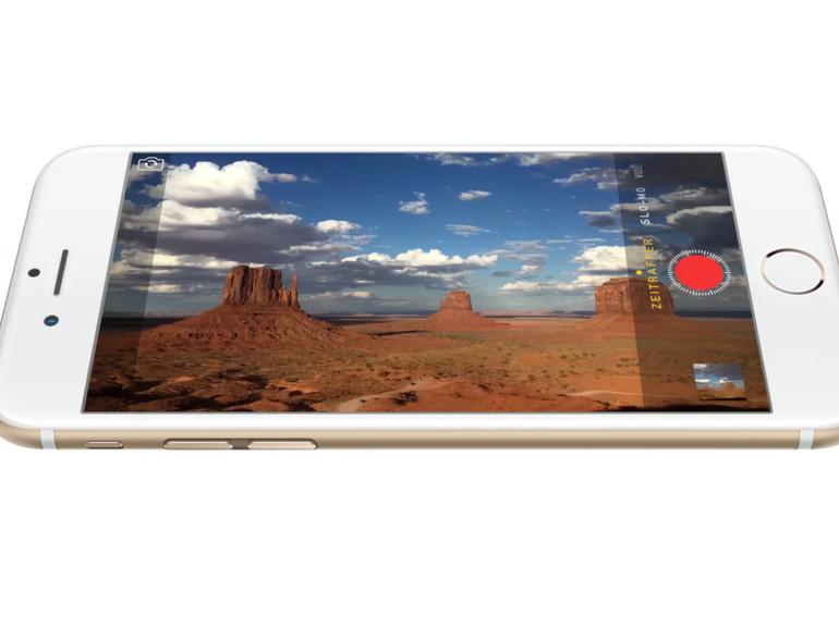 Das iPhone 6s wird eine 12 Megapixel-Kamera bekommen