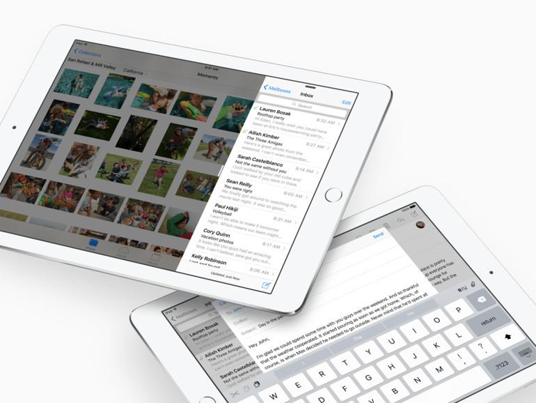 iOS 9 ist bereits bestens für das iPad Pro vorbereitet