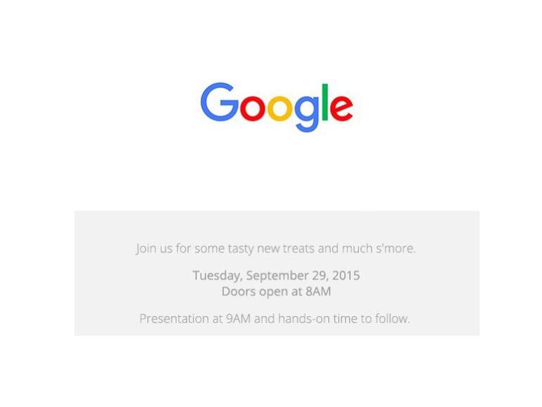 Neue Nexus-Smartphones und mehr: Google lädt zum Event am 29. September ein - kommt Apple TV 4-Konkurrent Chromecast 2?