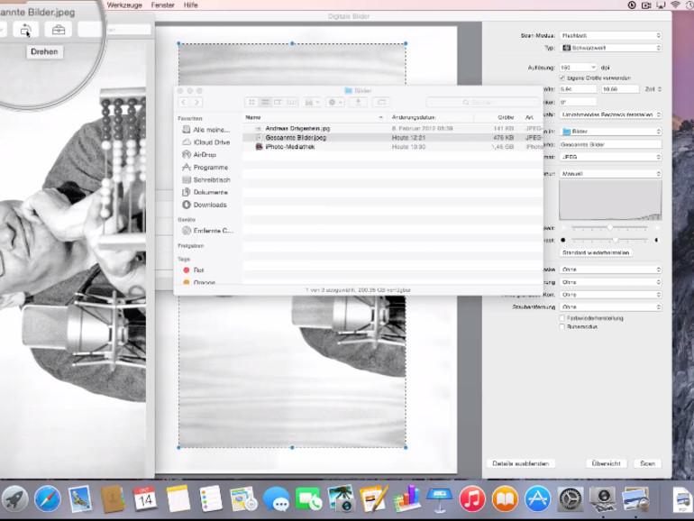 Die App Digitale Bilder ist äußerst vielseitig