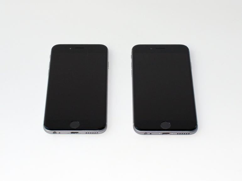 Das iPhone 6s ist auf den ersten Blick nicht vom Vorgänger zu unterscheiden. Die minimal größeren Maße gehen selbst im Vergleich unter, aber die 14 g mehr Gewicht merkt man sofort.