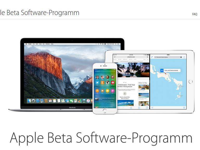 Die Teilnahme am Beta-Test-Programm ist kostenlos