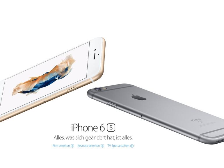Die Akkulaufzeit des iPhone 6s hängt vom Chip-Hersteller ab