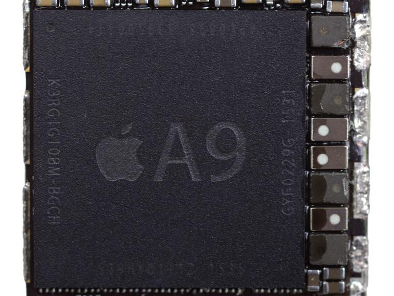 Der A9-SoC des iPhone 6s.