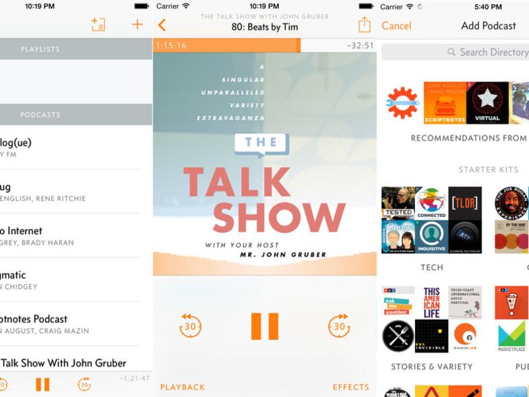 Die Podcast-App Overcast ist ab sofort kostenlos