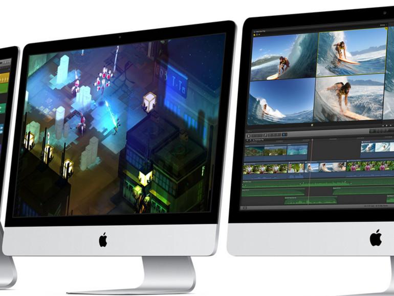 Apple hat am Dienste die iMac-Familie aktualisiert