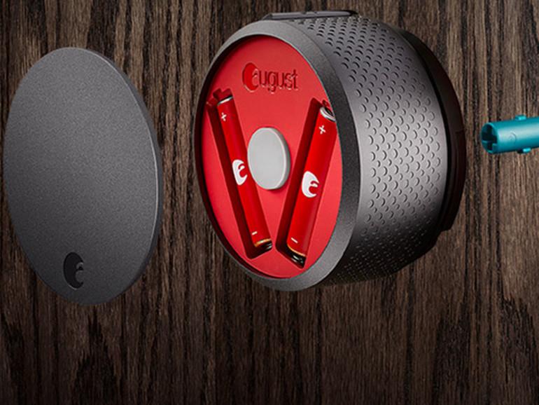Das neue August Smart Lock ist mit HomeKit kompatibel