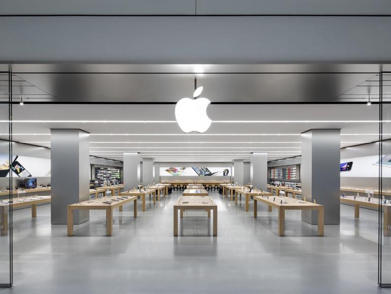 Im Apple Store im Queens Center fand ein unglaublicher Betrug statt
