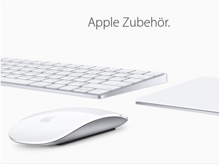 Das Magic Keyboard ist kleiner als die Vorgänger-Version