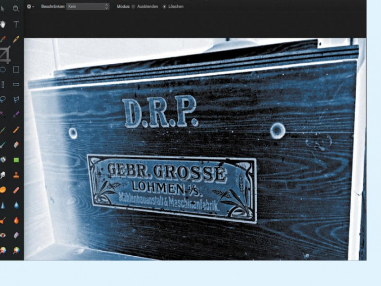Pixelmator: Über HDR und das Speichern