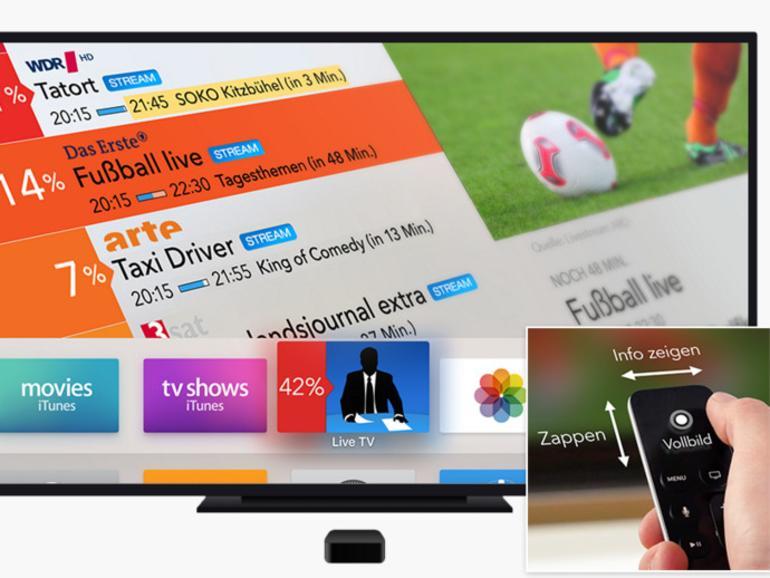 Live TV steht ab sofort im App Store zum Download bereit