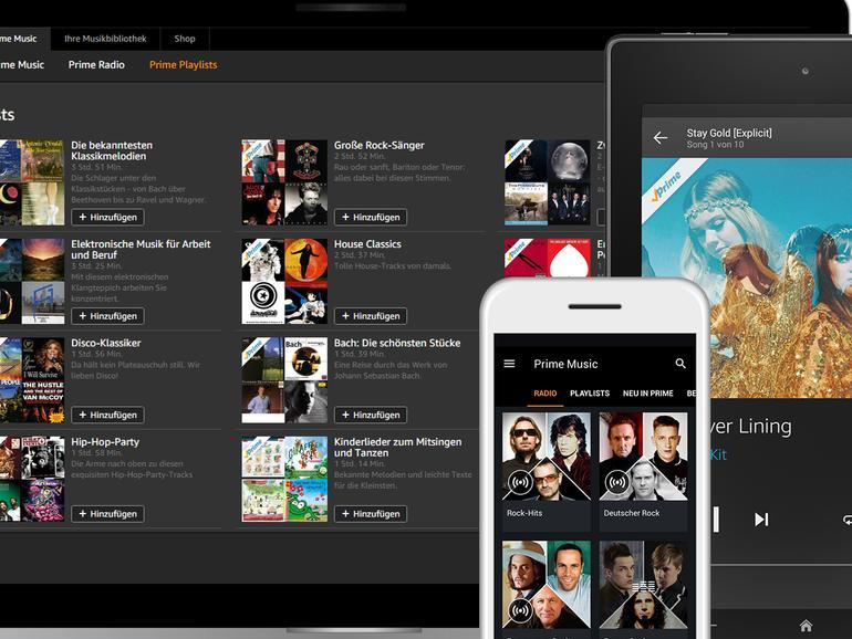 Prime Music ist ab sofort kostenlos - für deutsche Amazon Prime-Abonnenten