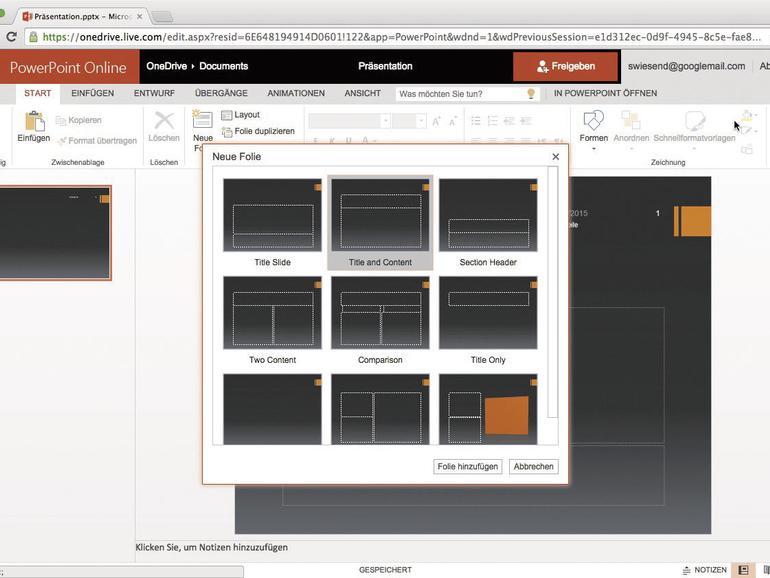 Die Online-Versionen der Office-Suite sind sehr hilfreich, wenn man sich den Kauf der teuren Microsoft Suite sparen will.