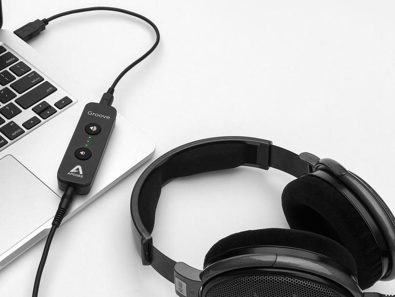 Test: Apogee Groove, edler Kopfhörer-Verstärker für Mac-Anwender