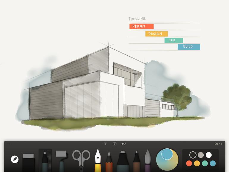 Die Notiz-App Paper beherrscht nun die Fähigkeiten des iPad Pro sowie des Apple Pencil