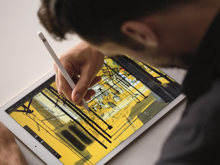 Zum Erwerb eines Apple Pencils wird dringend geraten