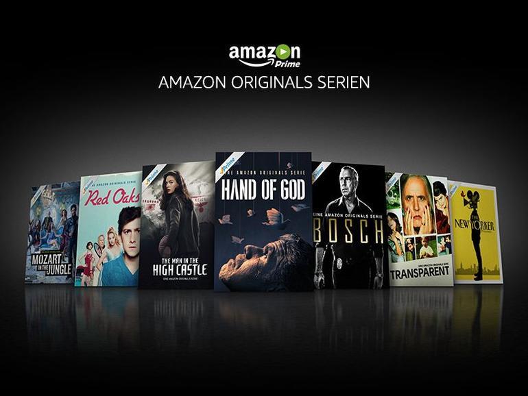 Amazon produziert auch eigene Serien