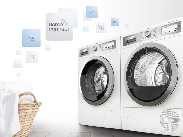 home connect waschmaschine. Black Bedroom Furniture Sets. Home Design Ideas