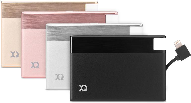 XQISIT Power Bank 1350 mAh Lightning