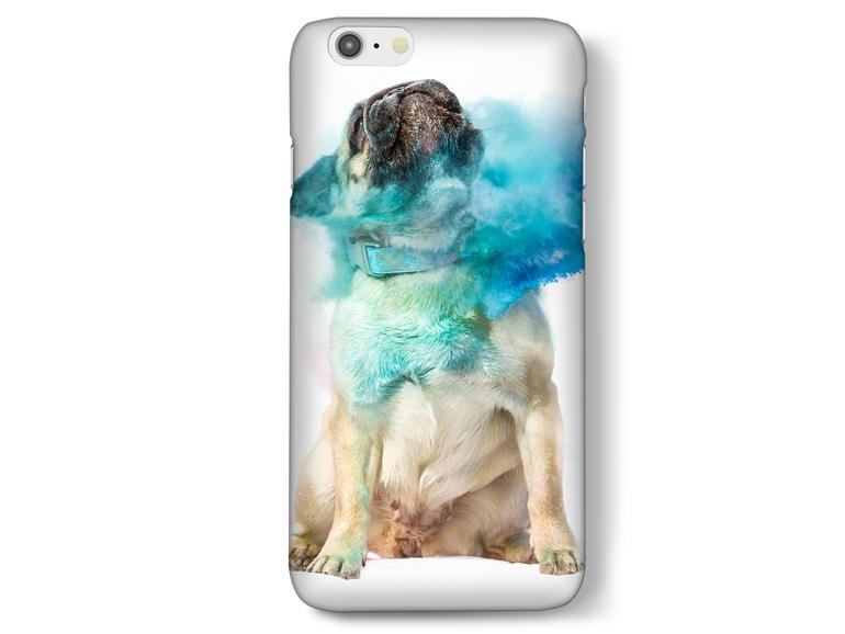 Der Online-Shop Pixum bietet die unterschiedlichsten iPhone-Cases, auch für Hundefreunde ist mit Sicherheit was dabei.