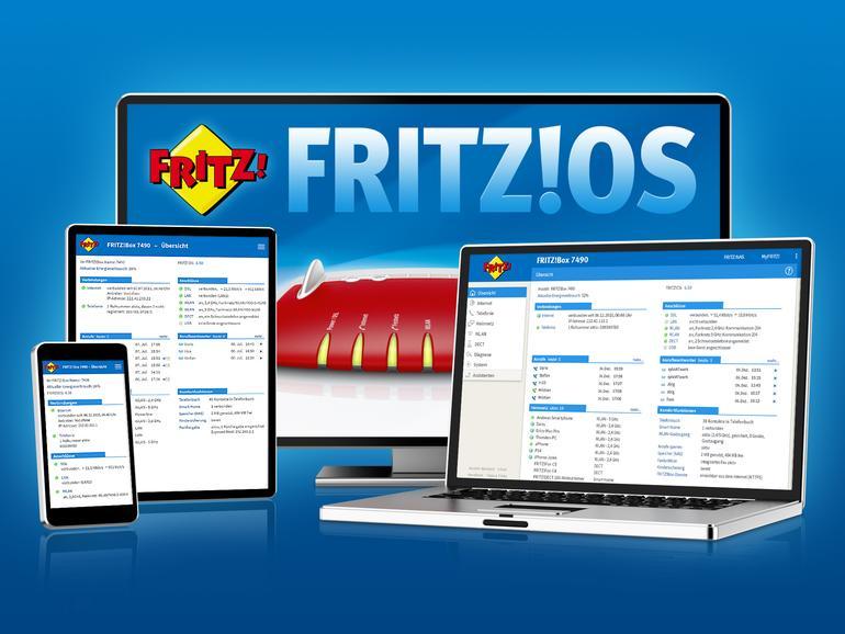 Das Betriebssystem der Fritz!Box hat ein Update erhalten