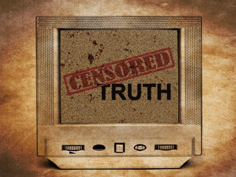Zensur wird als Fehlermeldung angezeigt