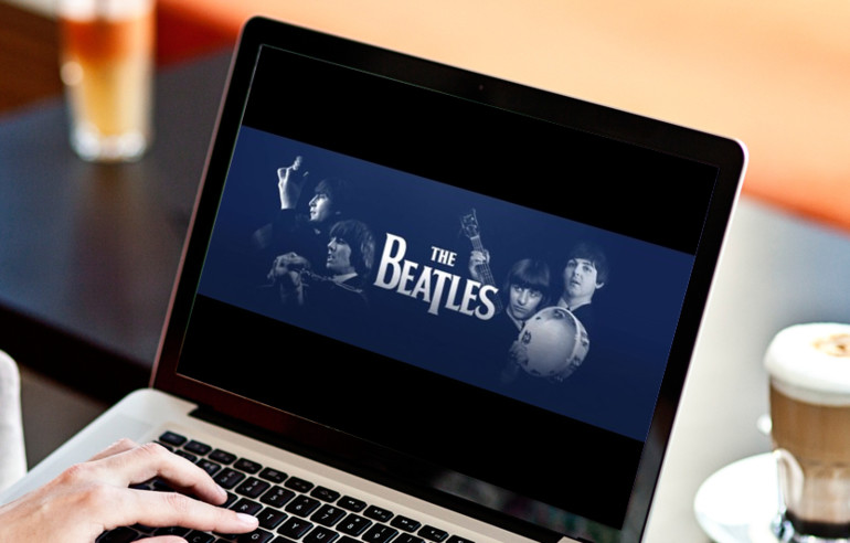 Apple Music streamt The Beatles