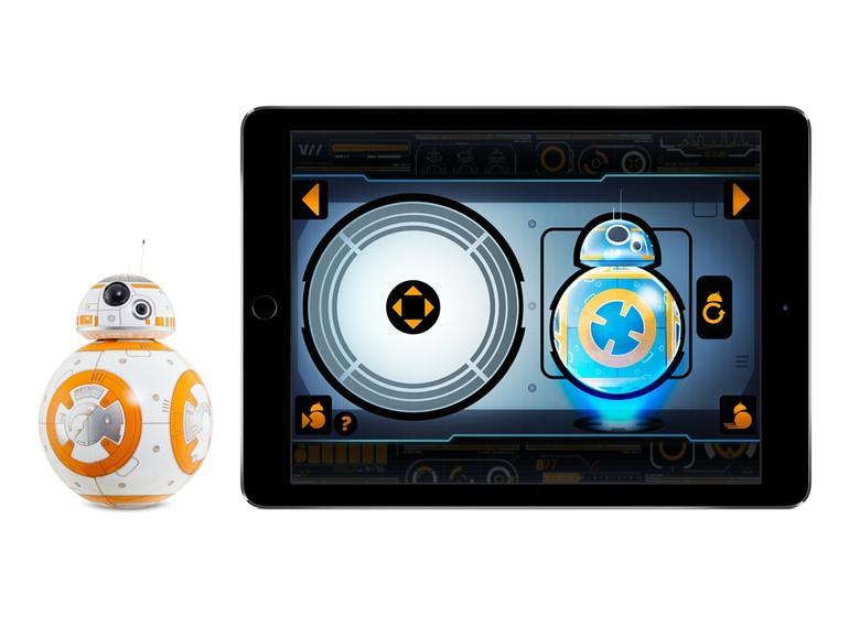 Der BB-8 aus Star Wars lässt sich dank Tickle ausführlich mit Persönlichkeit ausstatten