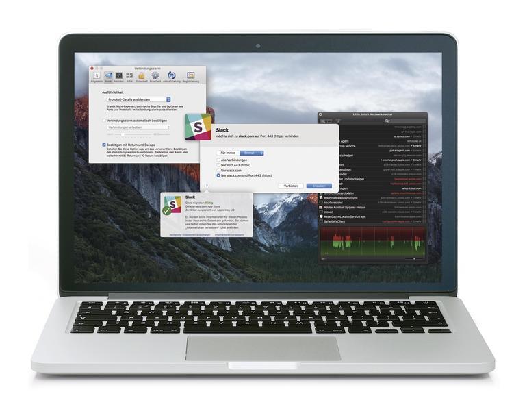 Little Snitch kann Ihnen dabei helfen, fehlgeleitete Apps auszusondern, indem es die Kommunikation der App mit den Servern unterbricht.