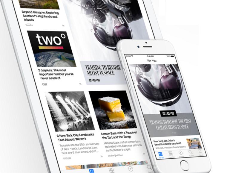 Apples News hat ein Problem