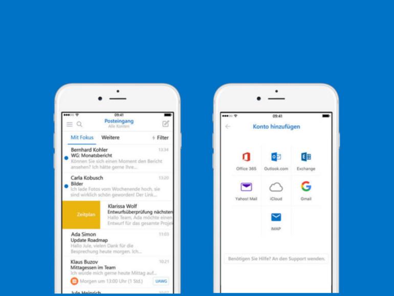 """Die """"Apple-Versionen"""" Outlooks haben ein Update erhalten"""
