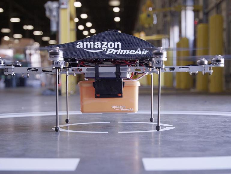 Amazon will in Zukunft via Drohne ausliefern
