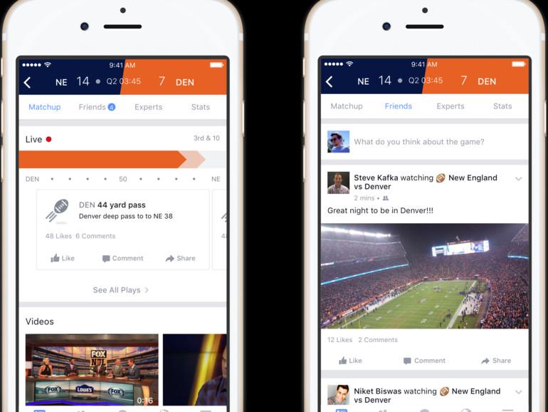 Facebook will zum Stadion werden