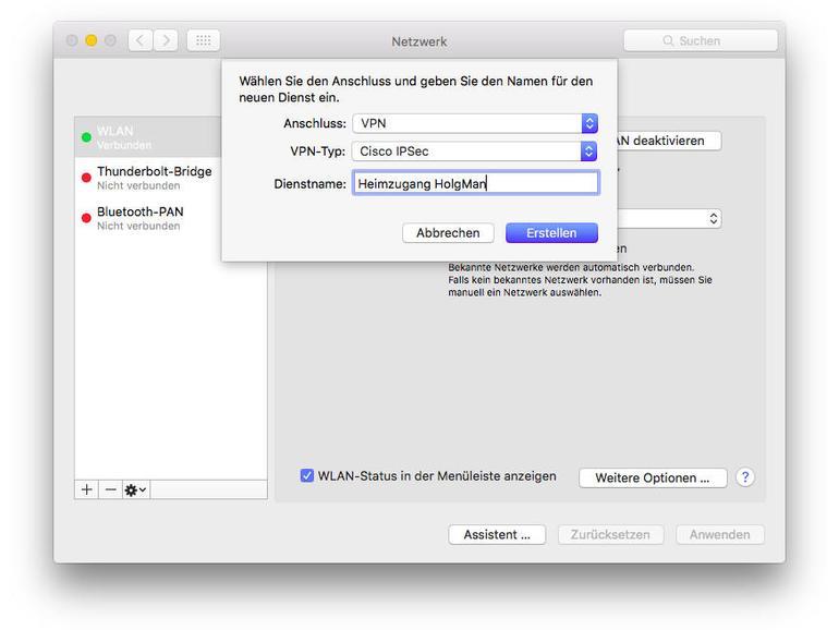 Netzwerk einrichten am Mac: So geht's!