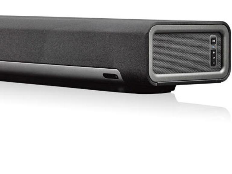 Die Playbar macht Sonos zur Heimkino-Anlage – in Kombi mit weiteren Playern auch mit Surround-Klang.