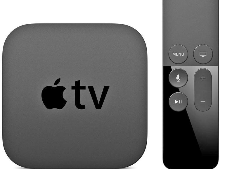 Ein Apple TV 3 oder 4 stellt die Verbindung zu HomeKit über die iCloud-ID und das Internet her.