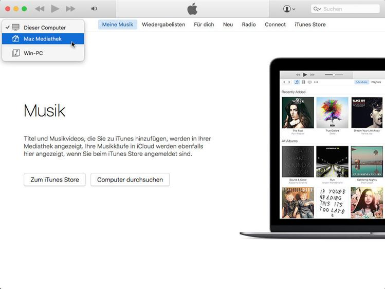 iTunes-Server einrichten: So bringst du Musik und Videos ins lokale Netzwerk