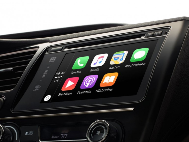Apples CarPlay nimmt langsam Fahrt auf