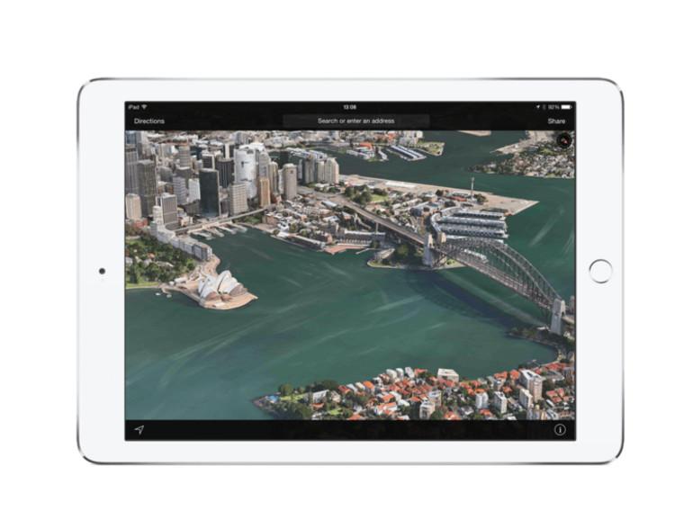 Apples Kartendienst enthält nun 12 deutsche Flyover-Orte