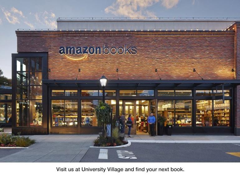 Amazon betreibt bereits einen Buchladen in Seattle