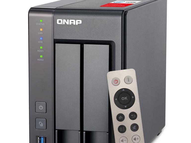 QNAP TurboNAS TS-251+ im Test: Multimedia-NAS ausprobiert