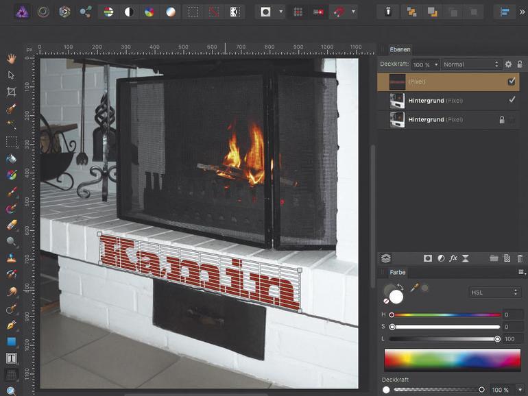 Einstieg in die Bildbearbeitung mit Affinity Photo: Perspektivische Fehler korrigieren