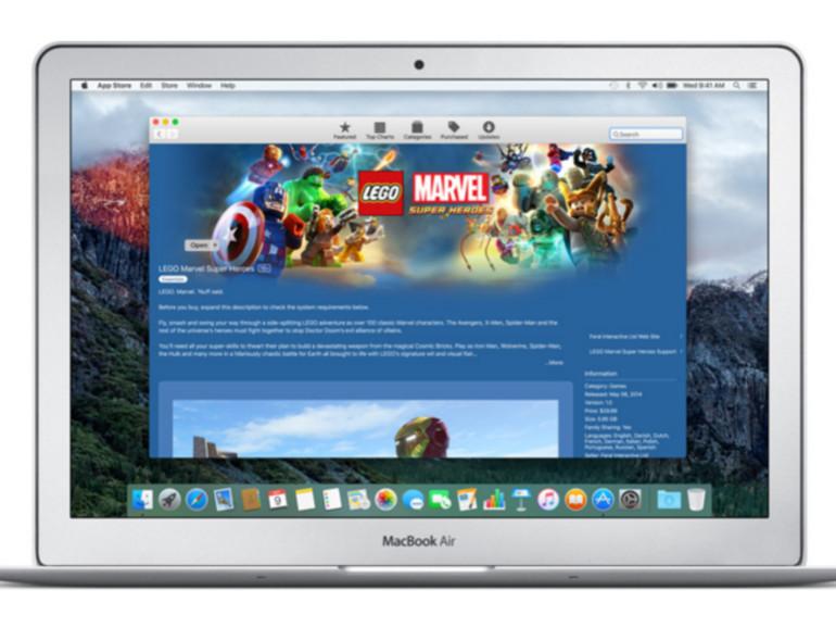 Einige Apps aus dem Mac App Store funktionieren derzeit nicht