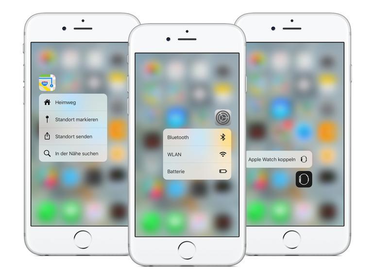 Apple hat einige neue Quick Actions hinzugefügt