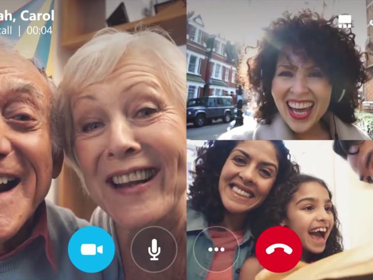 Skype erlaubt Gruppen-Video-Chats auf iOS und Android